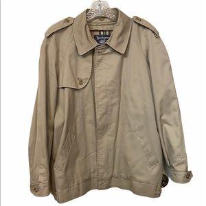 Vintage men's coaches jacket by Burberry size 38R.